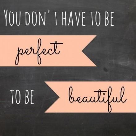 E cineva perfect?