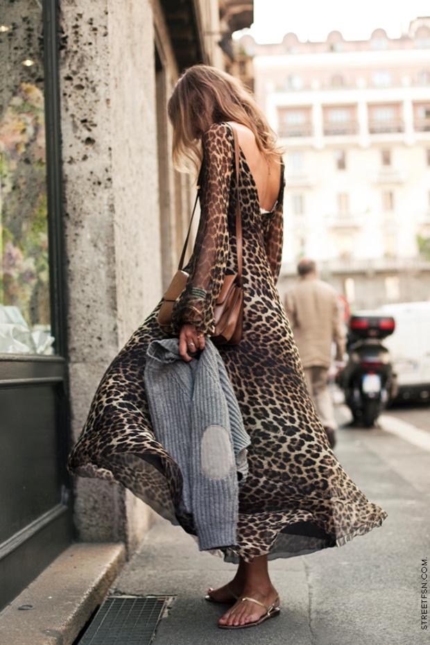 safari long dress