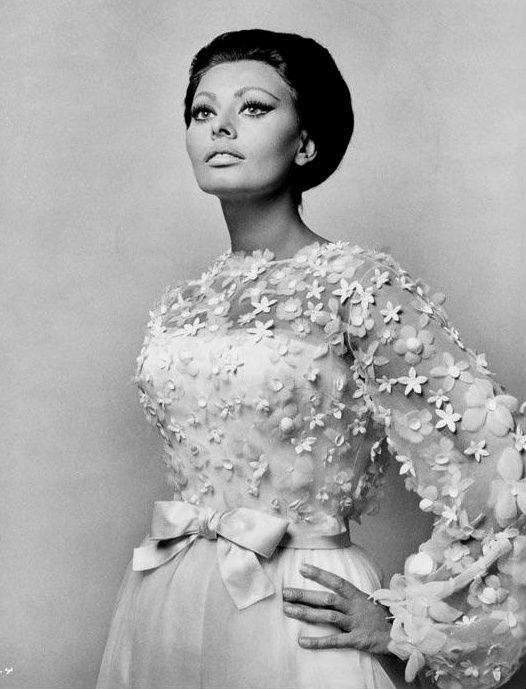 Dior 1966 Sophia Loren