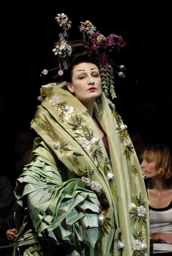 John Galliano pentru Dior spring summer 2007