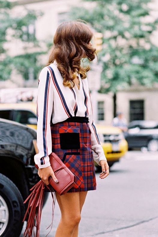 tartan mix and match