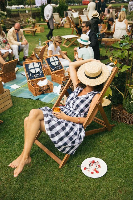 gingham picnic rebrand yourself
