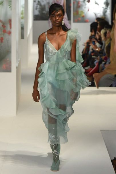 PreeN mint SS 2018 Frou-Frou Dress