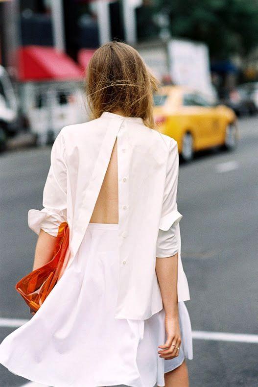 camasa all white