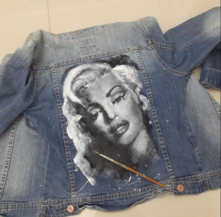 pictura pe haine