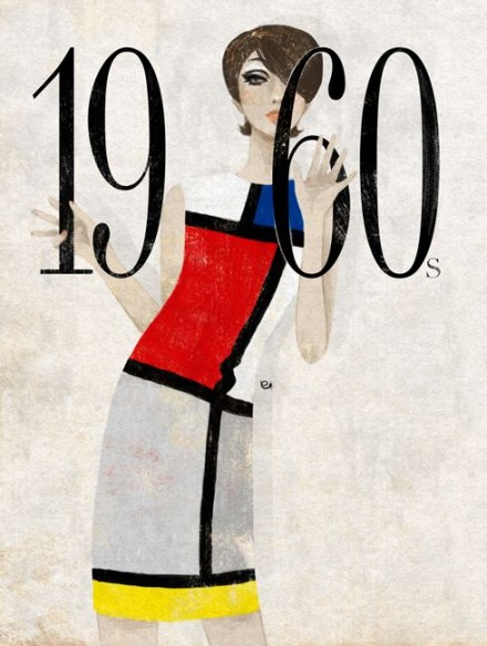 Rochia Mondrian (Yves Saint Laurent si simplitatea sofisticata)