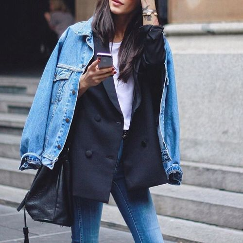 toamna layer jeans