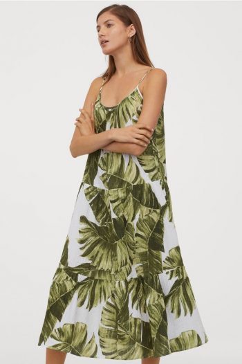 rochie de vara cu imprimeu jungle
