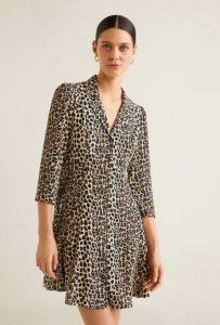 rochie de vara safari mango outlet
