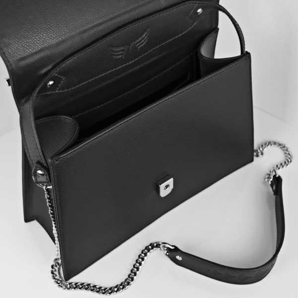 geantă neagră